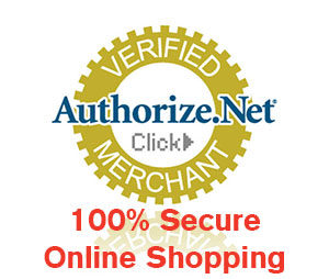 Authorize.net 100% Secure Online Shopping